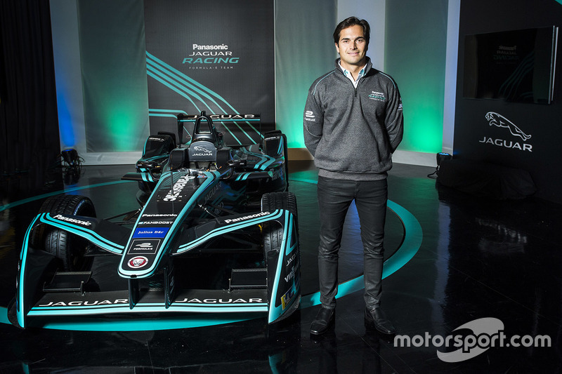 #3 Nelson Piquet Jr., Panasonic aguar Racing