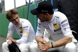 Lucas Auer, Mercedes-AMG Team HWA, Mercedes-AMG C63 DTM and Gary Paffett Mercedes-AMG Team HWA, Mercedes-AMG C63 DTM