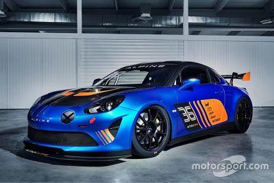 Alpine A110 GT4 Präsentation