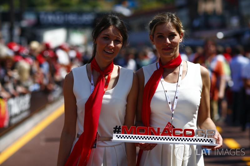 Monaco Grand Prix chicas edecanes