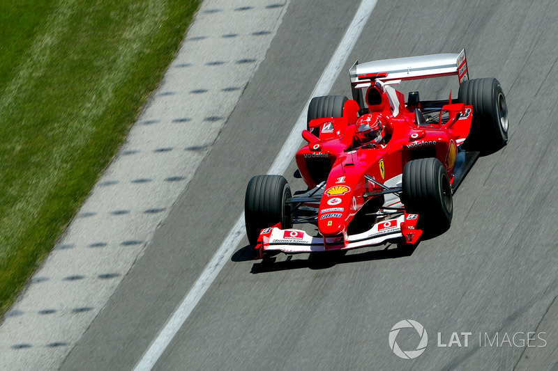 4. 2004 - Michael Schumacher, Ferrari (82,2%)