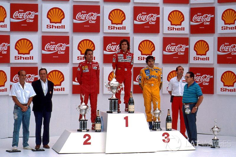 1988. Бразилія. Ален Прост, McLaren MP4/4