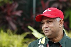 Tony Fernandes, Team Principal, Caterham F1