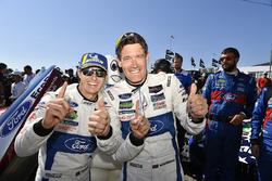 #67 Chip Ganassi Racing Ford GT, GTLM: Ryan Briscoe, Richard Westbrook in Victory Lane.