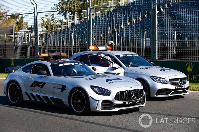 Fia Formula 1 Mercedes Amg Gtr Safety Car And C63 S Medical