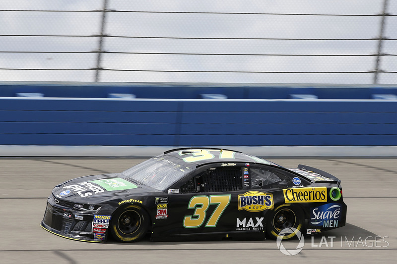 12. Chris Buescher, No. 37 JTG Daugherty Racing Chevrolet Camaro