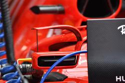 Ferrari SF-71H with mirror on halo detail