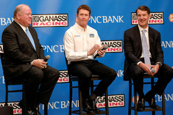 Chip Ganassi; Scott Dixon, Chip Ganassi Racing; Bill Demchak, Präsident PNC Bank