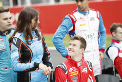 Tatiana Calderon, Jenzer Motorsport et Callum Ilott, ART Grand Prix