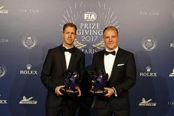 Sebastian Vettel, Valterri Bottas