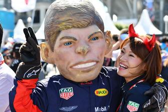 Caricatura di Max Verstappen, Red Bull Racing
