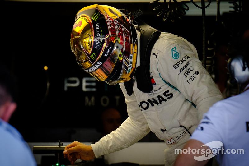 GP Abu Dhabi - Lewis Hamilton