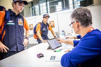#1 Red Bull KTM Factory Racing KTM: Matthias Walkner, #77 Red Bull KTM Factory Racing KTM: Luciano Benavides