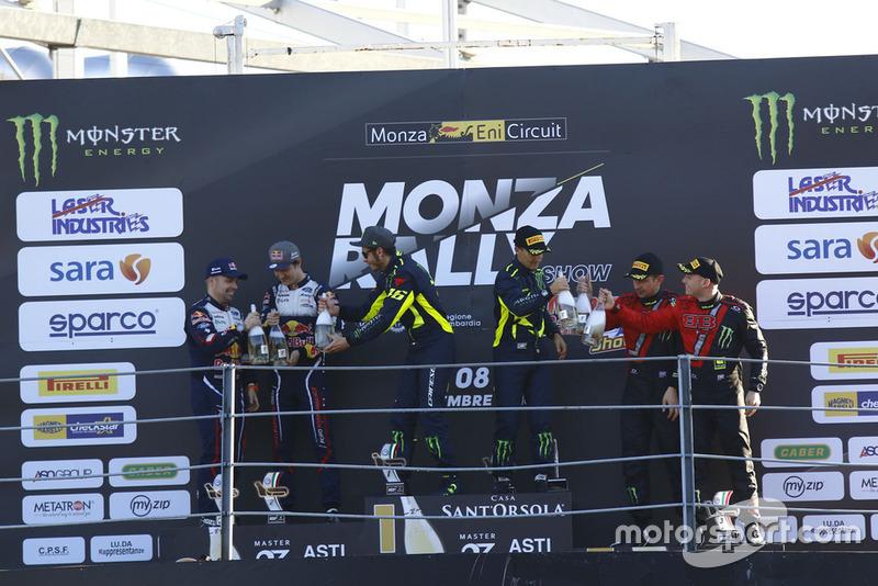 Ganador, Valentino Rossi, Carlo Cassina, Monza Rally Show