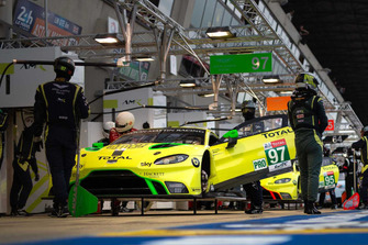 Aston Martin in Le Mans