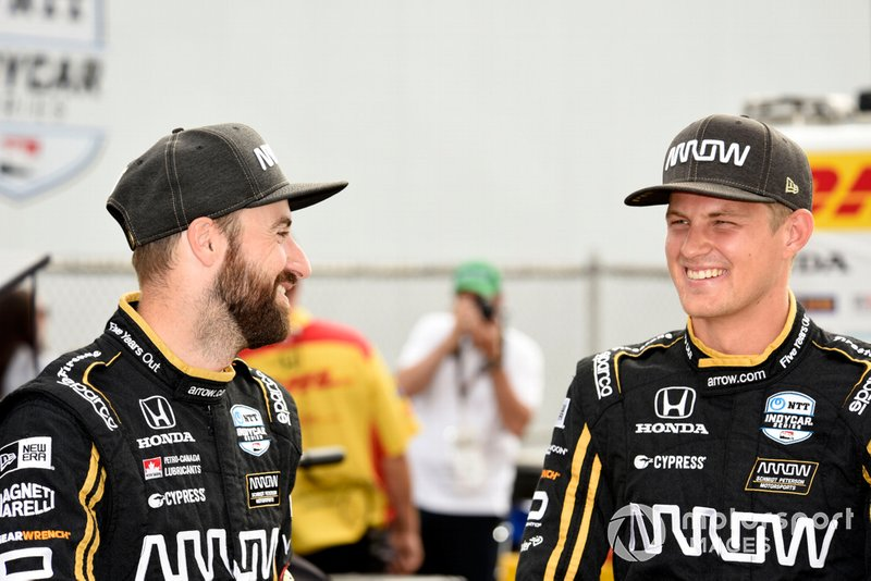 Hinchcliffe and Ericsson had good chemistry throughout the 2019 season.