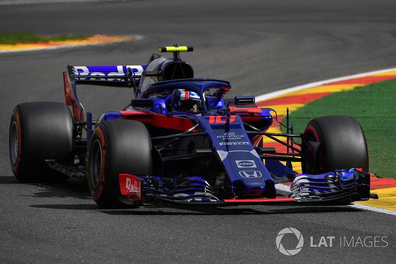 10. Pierre Gasly, Scuderia Toro Rosso STR13