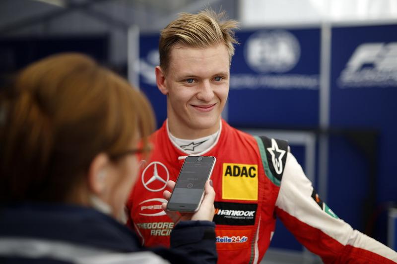 Interview with Mick Schumacher, PREMA Theodore Racing Dallara F317 - Mercedes-Benz