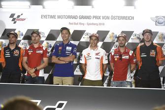 Oliveira, Jorge Lorenzo, Ducati Team, Valentino Rossi, Yamaha Factory Racing, Marc Marquez, Repsol Honda Team, Doviziozo, Bradley Smith, Red Bull KTM Factory Racing