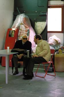 Энцо Ферарри и Марко Пиччинини