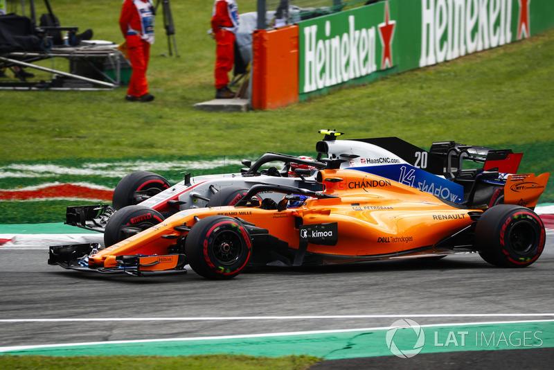 13: Fernando Alonso, McLaren MCL33, 1'22.568