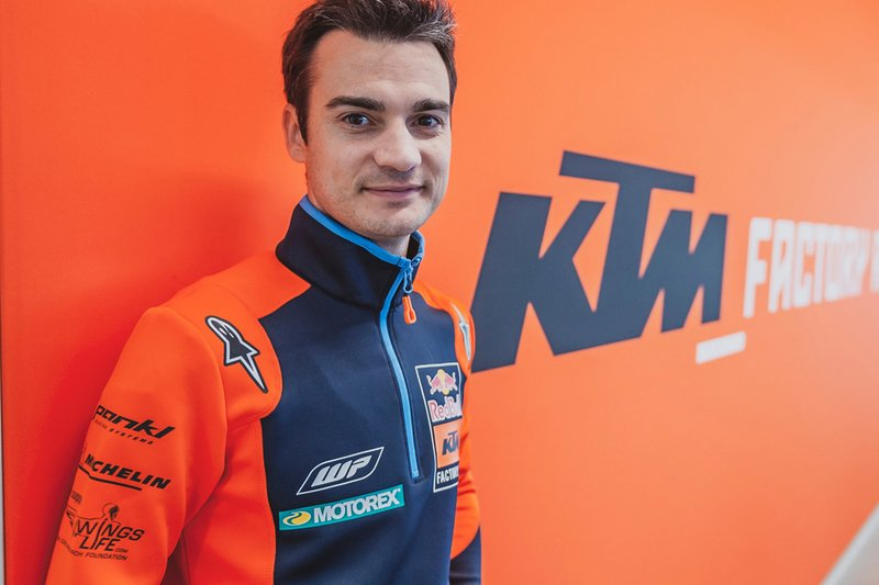 Дані Педроса, тест-пілот Red Bull KTM Factory Racing