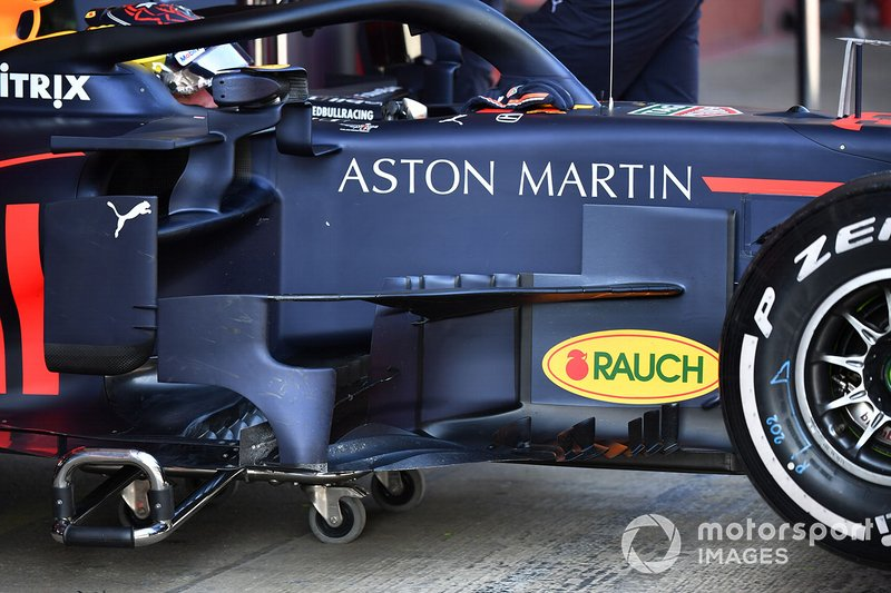Bargeboards del Red Bull Racing RB15