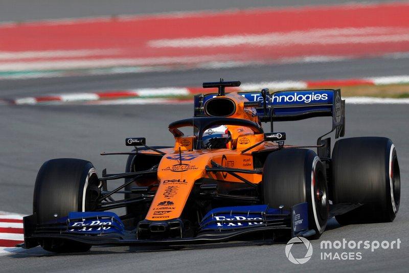 8º Carlos Sainz, McLaren MCL34, 1:16.913 (neumáticos C5, día 8)