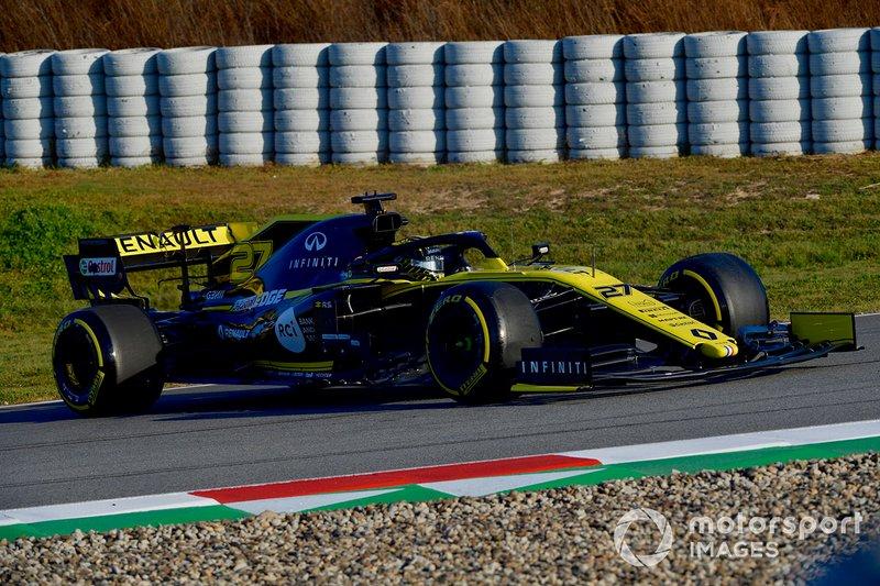 Nico Hulkenberg, Renault Sport F1 Team R.S. 19 en tête-à-queue