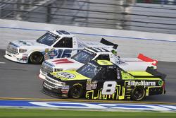 John Hunter Nemechek, SWM-NEMCO Motorsports, Chevrolet; Timothy Peters, Red Horse Racing, Toyota; Ryan Truex, Toyota