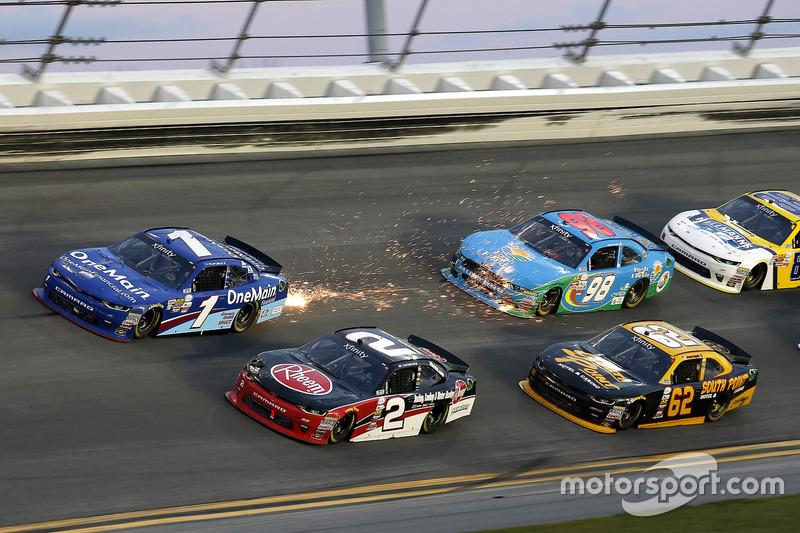 NASCAR XFINITY. Дайтона, 2017 год