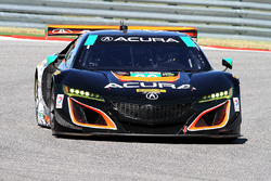 #86 Michael Shank Racing, Acura NSX: Oswaldo Negri Jr., Jeff Segal