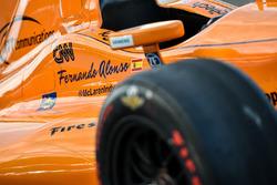 El coche de Fernando Alonso, Andretti Autosport Honda