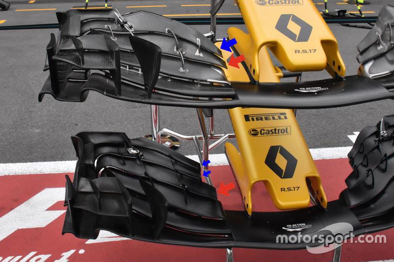 Передні антикрила Renault Sport F1 Team RS17