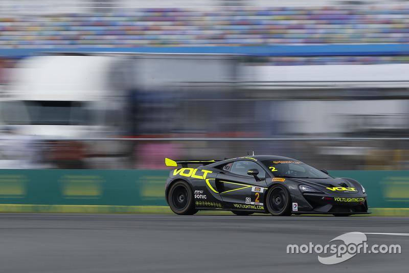 #2 Automatic Racing/VOLT Racing McLaren GT4: Alan Brynjolfsson, Chris Hall