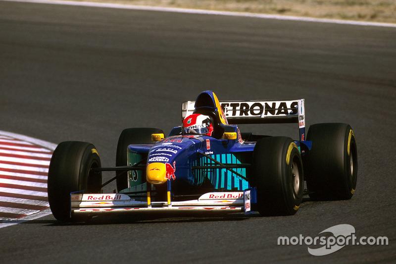 #16: Johnny Herbert, Sauber C16