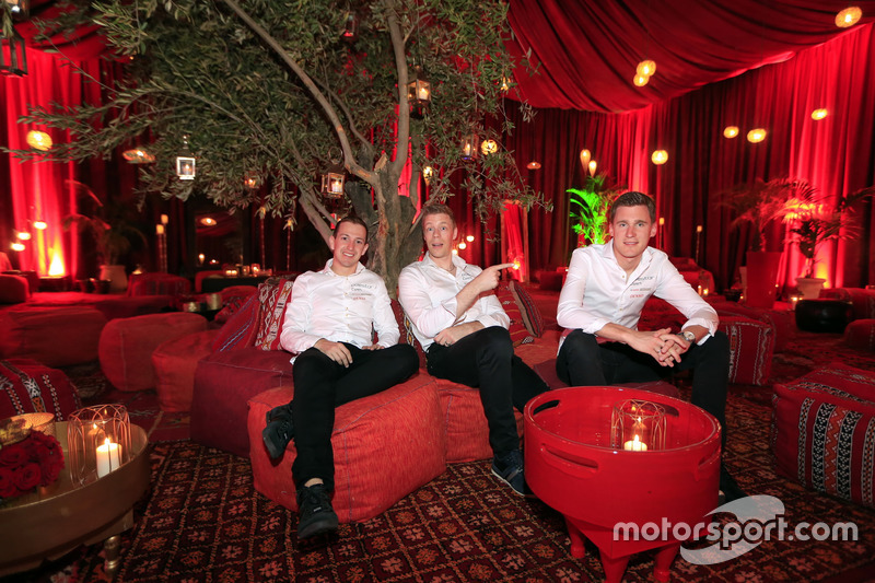 Nestor Girolami, Thed Björk, Nicky Catsburg, Polestar Cyan Racing, Volvo S60 Polestar TC1