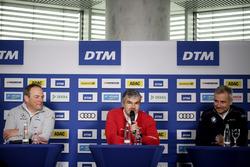 Руководитель команды Mercedes-AMG HWA Ульрих Фриц, глава DTM Audi Sport Дитер Гасс, директор BMW Motorsport Йенс Марквардт