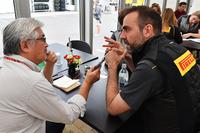 Manuel Munoz, Pirelli Engineer is interviewed