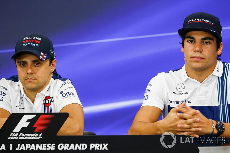 Felipe Massa, Williams, Lance Stroll, Williams