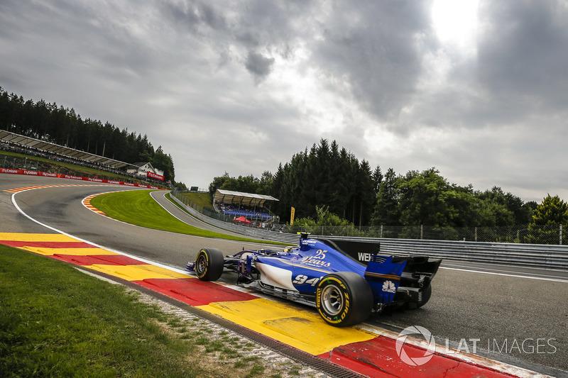 18: Pascal Wehrlein, Sauber C36