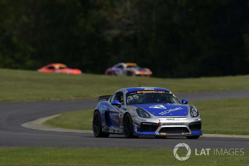 35 Cj Wilson Racing Porsche Cayman Gt4 Russel Ward Damien Faulkner