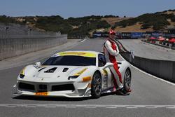 Майкл Фассбендер та Ferrari 488