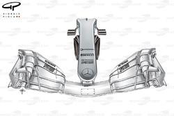 Mercedes F1 W08: Schmale Nase, GP Spanien