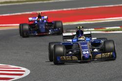 Паскаль Верляйн, Sauber C36-Ferrari, Карлос Сайнс-мол., Scuderia Toro Rosso STR12