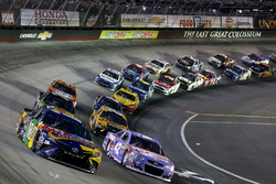 Kyle Busch, Joe Gibbs Racing Toyota Kyle Larson, Chip Ganassi Racing Chevrolet