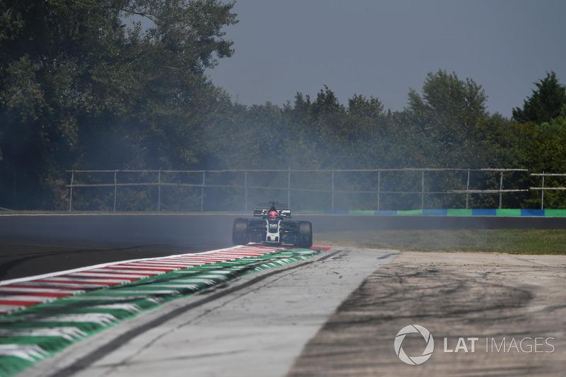 Розворот Сантіно Ферруччі, Haas F1 Team VF-17