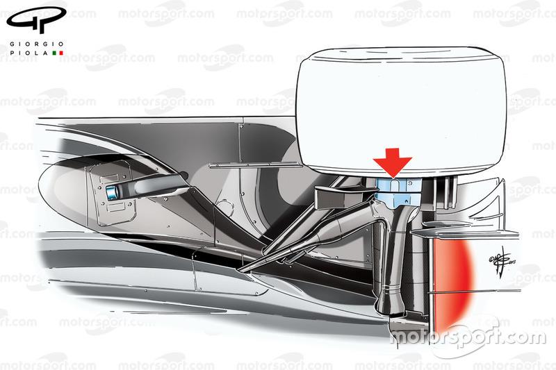 """تصميم نظام التعليق الخلفي لسيارة مكلارين """"ام.بي4/28"""""""