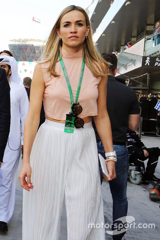 Carmen Jorda, pilota sviluppatore Renault Sport F1 Team