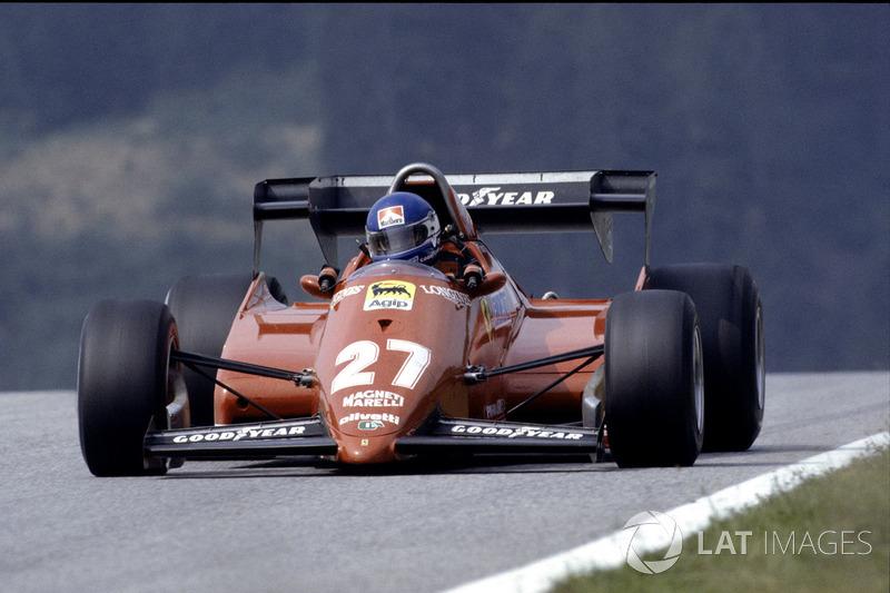 18. Південна Африка-1983, Кьяламі, Ferrari 126C3 - 1.06,554